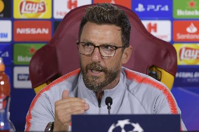 Di Francesco in conferenza